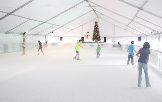 Ice Skating at The Wharf