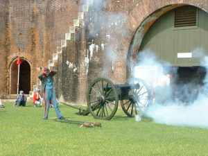 Independence Day at Fort Morgan