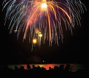 4th of July Fireworks Display