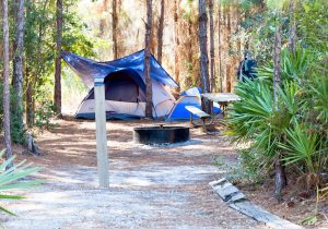 Tent Camping at Gulf State Park