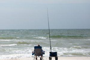 Winter Surf Fishing on Alabama Gulf Coast