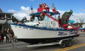 Christmas Parades along Alabama Gulf Coast