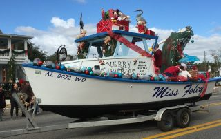 Christmas Parades along Alabama Gulf Coast