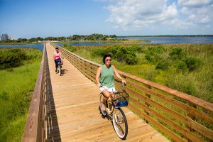 Bike Riding in Gulf State Park