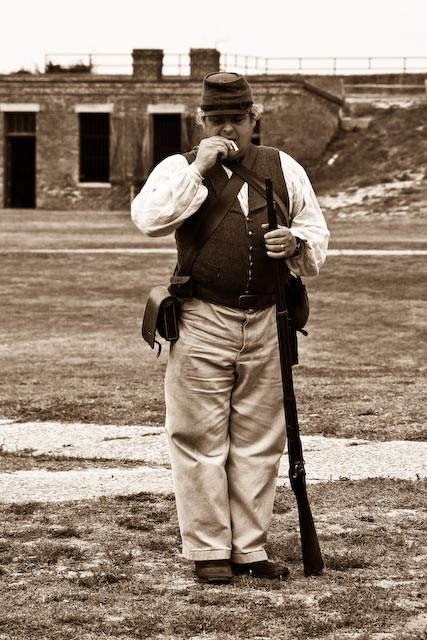 Fort Gaines Soldier